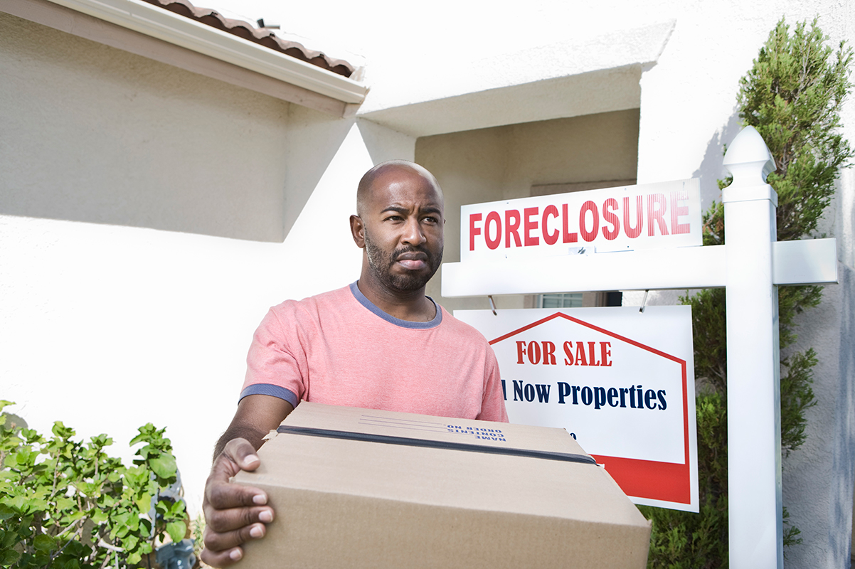 House Being Foreclosed